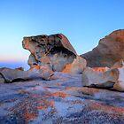 Remarkable Rocks at sunset on Kangaroo Island by Elana Bailey