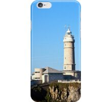 Sardinero lighthouse iPhone Case/Skin