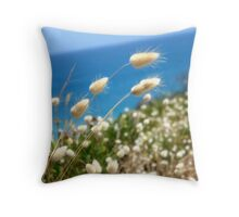 """Sea Tails"" Throw Pillow"