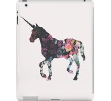Floral Unicorn 3 iPad Case/Skin