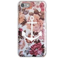 Floral Anchor 5 iPhone Case/Skin