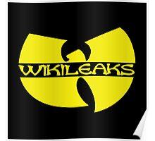 WikiLeaks - Wu-Tang Subversive Symbolism Poster