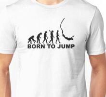 Evolution bungee jumping Unisex T-Shirt