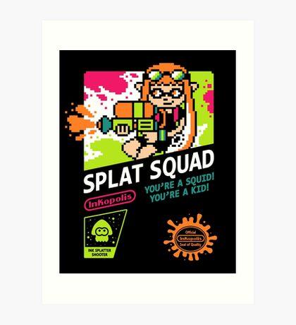 SPLAT SQUAD Art Print