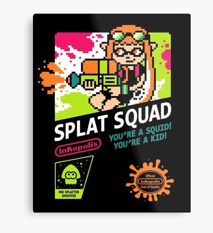 SPLAT SQUAD Metal Print