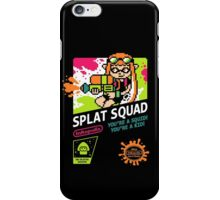SPLAT SQUAD iPhone Case/Skin