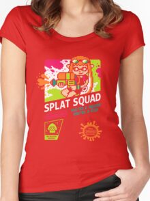 SPLAT SQUAD Women's Fitted Scoop T-Shirt