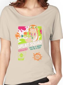 SPLAT SQUAD Women's Relaxed Fit T-Shirt