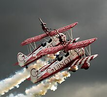 Guinot Wingwalkers by Mike Ashton