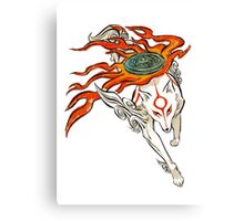 Amaterasu Canvas Print