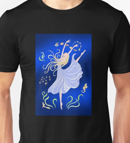 Dancing With the Fishes Unisex T-Shirt