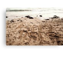 Happy Here Canvas Print