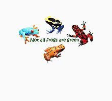 not all frogs are green Unisex T-Shirt