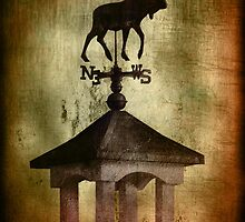 Moose Weathervane ~ By the Sea by Myillusions
