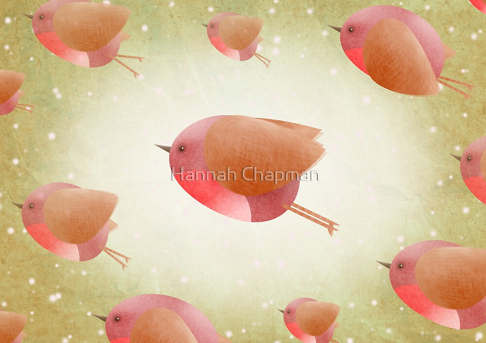 The Christmas Robin Army ... by Hannah Chapman