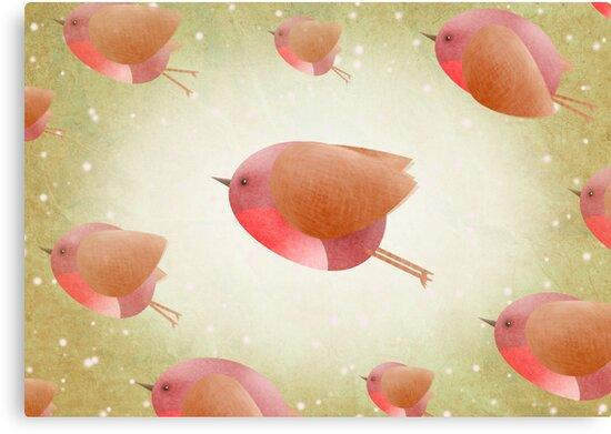 The Christmas Robin Army ... by Hannah Chapman