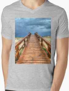 Into The Storm Mens V-Neck T-Shirt