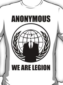 Anonymous - We Are Legion T-Shirt