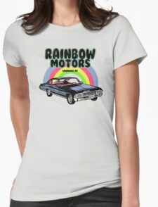 Rainbow Motors Womens Fitted T-Shirt