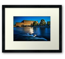 Royal Castle Stockholm Framed Print