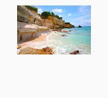 Cupecoy Beach on Sint Maarten, The Dutch Antilles Unisex T-Shirt