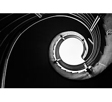 Spiral Lines Photographic Print