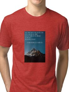 The Mortal Instruments: The City of Heavenly Fire quote Tri-blend T-Shirt