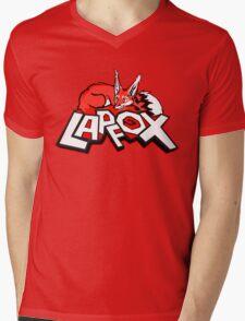 Lapfox Logo Mens V-Neck T-Shirt