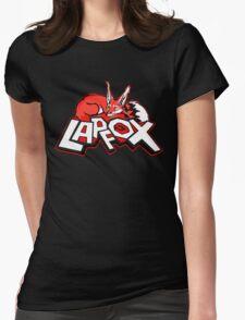 Lapfox Logo Womens Fitted T-Shirt