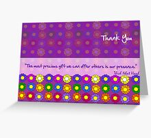 Presence Greeting Card