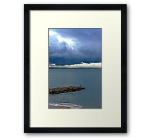 quiteness... Framed Print