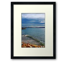 single... Framed Print
