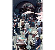 Catania Fish Market Photographic Print