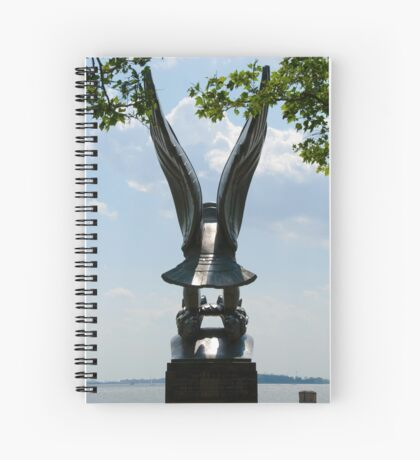 WW II Memorial Spiral Notebook