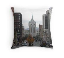 Delaware & Hudson Building, Albany, NY Throw Pillow