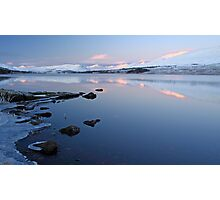 Loch tulla sunrise Photographic Print