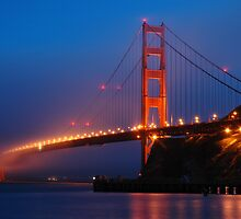 Golden Gate Bridge by Paul Thompson