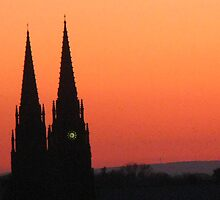 Sunset Spires by artwhiz47