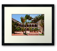 Hotel SOFITEL Ovando in Santo Domingo, The Dominican Republic Framed Print