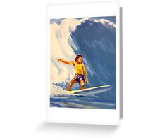 Surfing Hawaii Number 2 Greeting Card