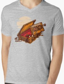 Dead Man Walkmann Mens V-Neck T-Shirt