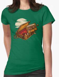 Dead Man Walkmann Womens Fitted T-Shirt