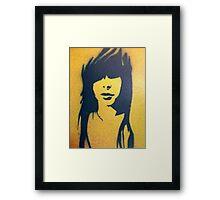 Shady Lady #3 Framed Print
