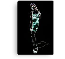 High Fashion Girl Fine Art Print Canvas Print