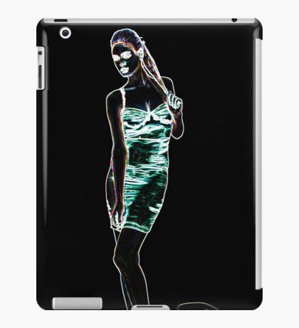 High Fashion Girl Fine Art Print iPad Case/Skin
