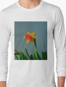 Daffodil Yellow Long Sleeve T-Shirt