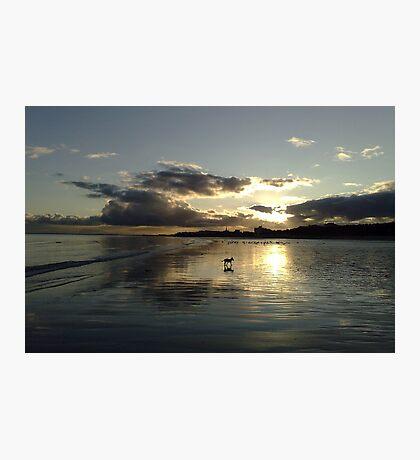 December Sunset Bridlington Photographic Print