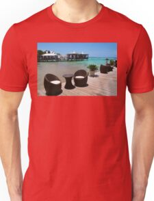 Infinity Luxury Swimming Pool in the Cayman Islands Unisex T-Shirt