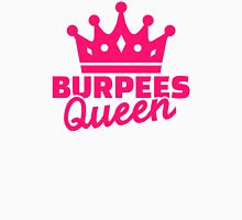 Burpees queen Womens Fitted T-Shirt