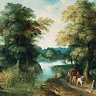 River Landscape by Bridgeman Art Library